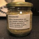 Getrocknete Gemüsebrühe mediterran